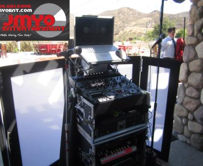 JMYO DJ set up